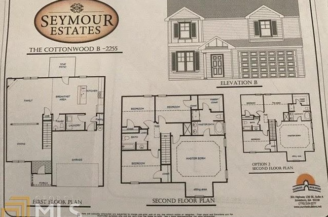 Seymour Estates Floorplan