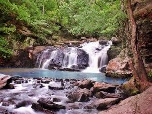 cochran mill park waterfall